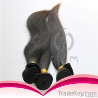 Grade 5A 100% Indian virgin human hair straight wave with great price