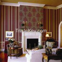 High quality wallpaper/flock wallpaper/PVC wallpaper/velvet wallpaper manufacturer