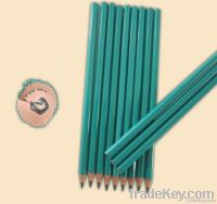 HB plastic pencil without eraser