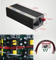 12V Pure Sine Wave Solar Power Inverter 4000W output voltage 120V or 220V connect 12V battery off grid solar system