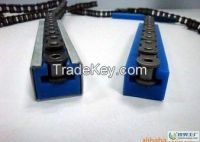 plastic chain guide wear strip, various size UHMWPE guide rail