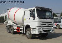 SINOTRUK HOWO 336HP 6x4 8m3 concrete mixer truck