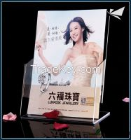 high quality china supplier acrylic brochure holder