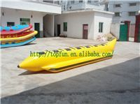 10 Person Single Line BB2 PVC Inflatable Banana Boat , Inflatable Flyfish