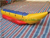 Single Line 7 Person Inflatable Banana Boat For Outdoor Entertainment In Sea