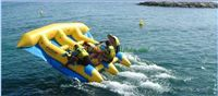 6 Person Fly Fish Boat / Inflatable Fly Fish Water Game IF-BB(14)