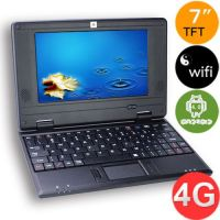 4GB WM 8850 1.2GHz DDR 512MB 7inch Screen Android 4.0 Camera WIFI HDMI MID Tablet PC - Black