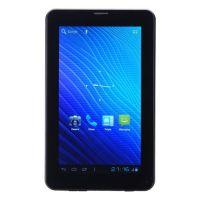 7 Inch A23 Dual Core RAM 512MB ROM 8G Android 4.0 Tablet PC w/ Bluetooth SIM Slot - Black