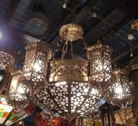 Classical Moroccan Cooper Chandelier for 008-3196-PL