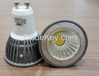 NEW&hot product 3W COB led spotlight GU10 LED White Yellow Spotlight,ceiling spotlight  Dimmable/Undimmable