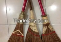 coconut broom, coconut broom stick, brush