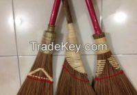 coconut broom, coconut broom stick, brush