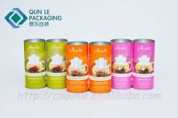 cylinder paper can for tea packaging