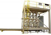 Force Airflow Valve Bag Filling Machine