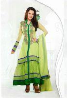 Green Color Georgette-Santoon Designer Bollywood Anarkali Suit