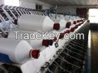 pure polyester ring spun yarn for India market