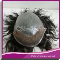 hair piece toupee for black men/women hair toupees/men hair toupee