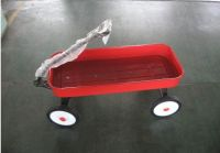 Tool Cart With Wooden Guardrail