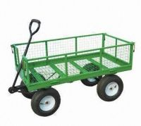 Garden Cart with Lead-free and UV-resistant Powder Coating, Measures 2,010 x 595 x 660mm