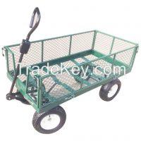 Mesh deck garden wagon-TC4205