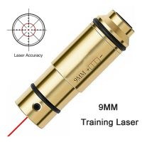 9MM Bore Sight Laser Bullet Red Dot Trainer Sighter for Dry Fire Training Shooting Simulation Laser Bullet