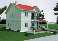 Integrated Townhouse with insulation wall system