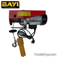 PA Double hook mini electric wire rope hoist MINI electric puller