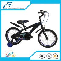black mini BMX for kids kids bicycle for boys and girls with alloy rims