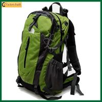 Hiking Printing Backpack, Polyester Sport Bag