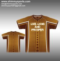 Sublimated T-Shirt Gents