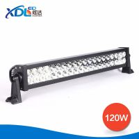 Factory Supply 120W 4x4 C ree LED Car Light, Curved LED Light Bar Off road,Auto LED Headlight Bar Arch Bent with CE RoHS FCC