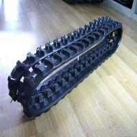 Rubber tracks for excavator bulldozer loader