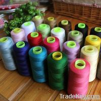 high quality 100% spun polyester sewing thread