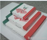 strong cheap customized pizza box, pizza packaging box