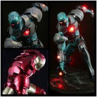 Custom Marvel Legend Action Figure Iron Man
