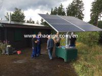 ZRS-06 semi-auto dual axis solar tracking system