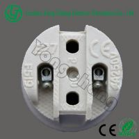 CE approved ceramic lamp holder E27 F519 electric bulb holder