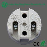 CE approved ceramic lamp holder E27 F519 electric bulb holder