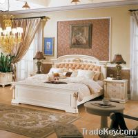 American style classic queen size bed