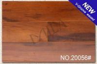 V-Groove Hand Scraped Laminate Wood Flooring 8mm/12mm