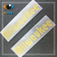 custom clothing Thermal transfer rubber labels for T-shirt washable label press on fabric heat transfer silicone tags