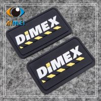 Custom PVC rubber clothing labels with 3D logo silicone tags bags soft sewing tag for shoes customized heat transfer gift label