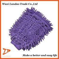 Magic Microfibre Fabric Chenille Cleaning Glove Car Mitt, High Quality Microfiber Car Wash Mitt
