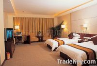 hotel bed / double bed / hotel furniture bedroom set
