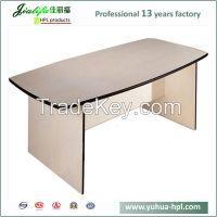 JIALIFU 12mm thick long narrow table meeting table oak dining table