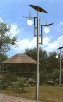 CE ISO TUV RoHS solar LED garden light 3m 15w
