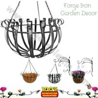 Iron Garden Hanging basket