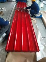 thickness 0.2mm 0.15mm pre-painted galvanized roofing sheets/PPGI PPGL corrugated roofing tile