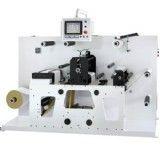 Intermittent full trademark rotary die-cutting machine