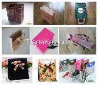 Hot Sale Custom Kraft Paper Gift Shopping Bag